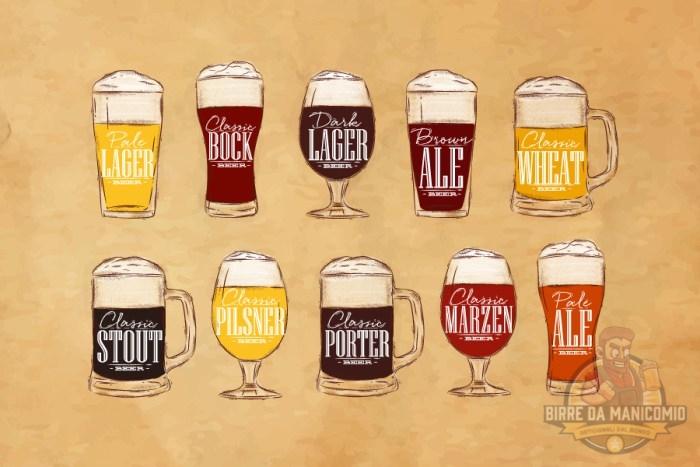 Bicchieri birra ad ogni birra il suo bicchiere for Bicchieri birra prezzi